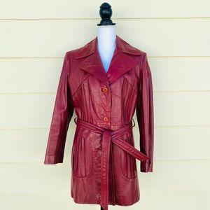 Vintage Cubalan Genuine Leather Jacket